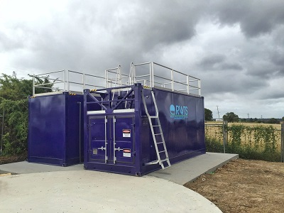 Image of our wastewater systems and treatment plant for remote camps